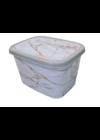 Melisa tároló doboz mintás gyerekeknek 50l ME-110 Márvány