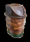 Tuffex click billenős szemetes 15l TP2229 Fadekor