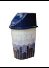 Tuffex click billenős szemetes 24l TP2230 Kék márvány
