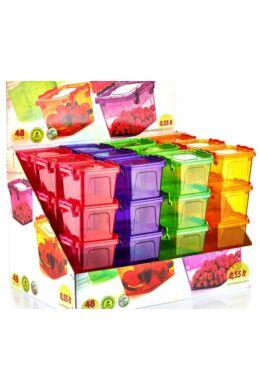 Hobby bonbon tároló szögletes 0,55l 021162