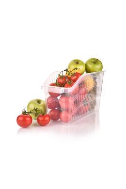 Hobby zöldségtároló átlátszó kicsi 031062