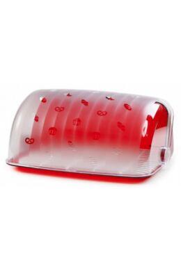 Berossi kenyértartó santi átlátszó piros IK03112 ÚJ