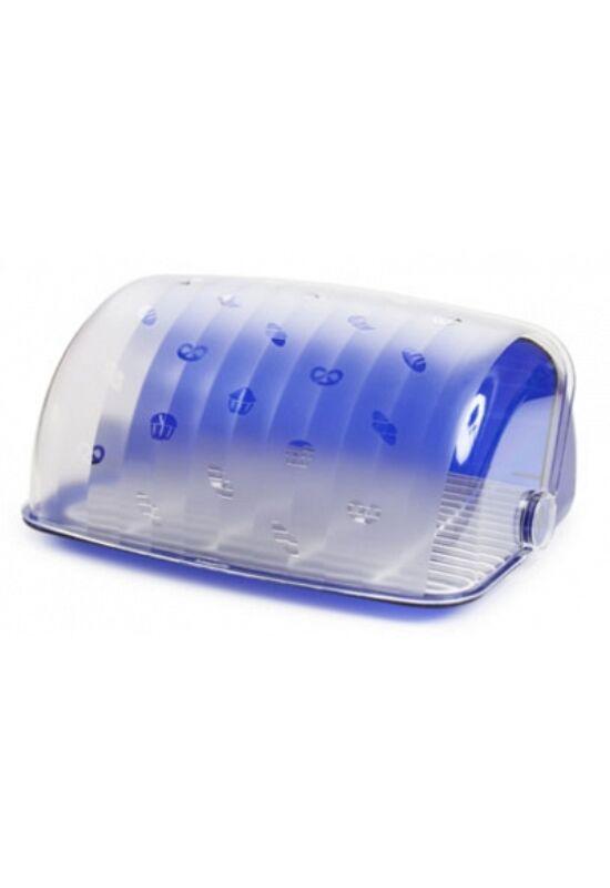 Berossi kenyértartó santi kék átlátszó IK03110 ÚJ