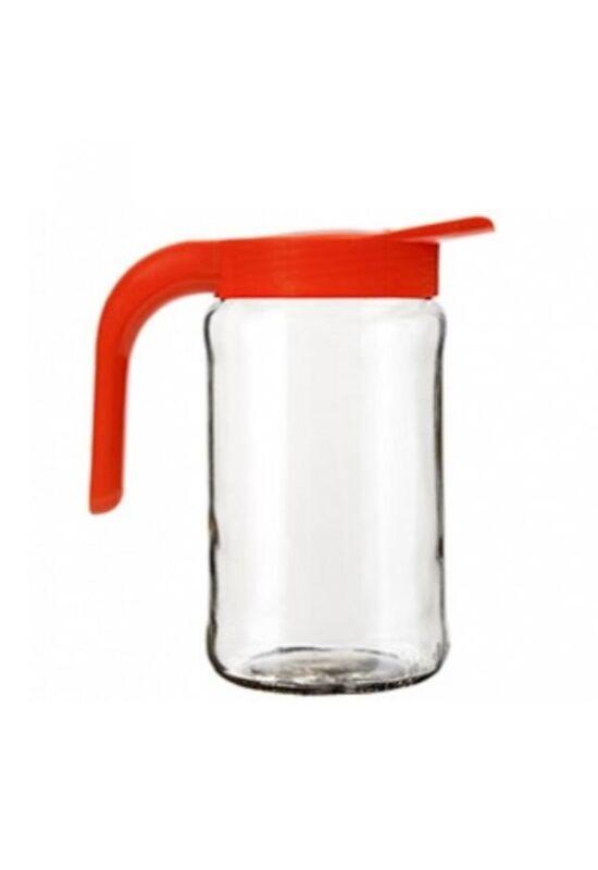 Berossi kancsó üveg 1,5l mandarinsárga, IK09040 ÚJ