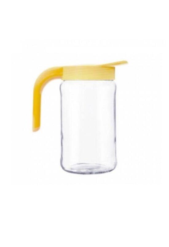 Berossi kancsó üveg 1,5l mézsárga IK09069 ÚJ