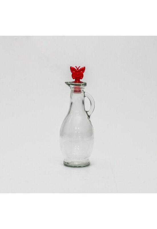 Sigma üveg olaj- és ecetkiöntő 0,25l SGM01922 piros
