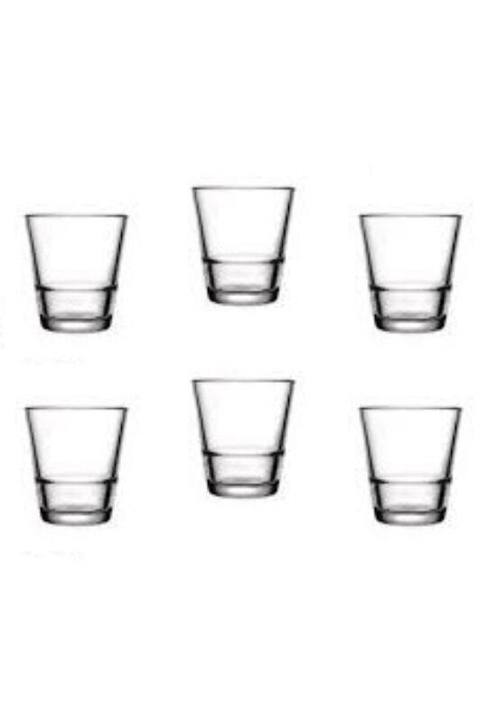 Sigma üveg pohár kávés szett 6 részes 6x7cl SGM04868 ÚJ