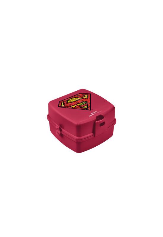 Tuffex Superman uzsonnás doboz TP509-51 ÚJ zárt