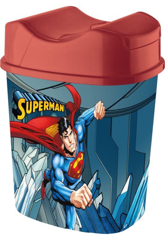 Tuffex Superman billenős szemetes 5,5l TP385-51 ÚJ
