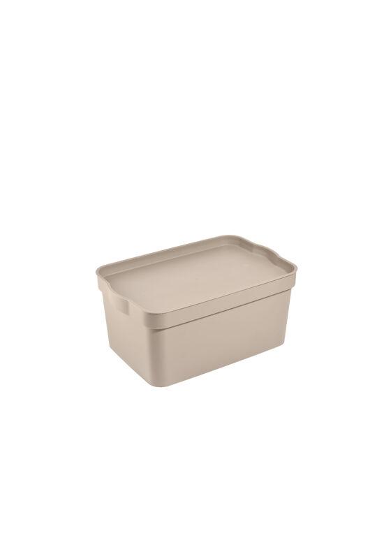 Tuffex tároló doboz tetővel 7,5l TP594 ÚJ krém